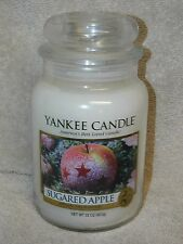 Yankee Candle 22 oz Large Jar Candle  New ---   Sugared Apple