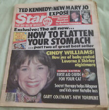 Star 2/22/83 Cindy Williams Gary Coleman Ted Kennedy Julie Andrews Jane Seymour