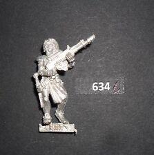 Warhammer Necromunda Escher Gang miembro de metal con lasgun 2 B 634