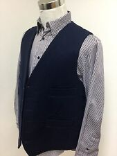 Mens moleskin waistcoat (XXXL) NAVY RRP £59.99 country shooting hunting horse