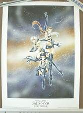 Sailor Moon Starlights 1000EDT Naoko Takeuchi Poster Artbook illustration Manga