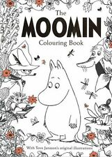 The Moomin Colouring Book with Tove Jansson's Original Illustrations NEW