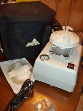 VacuMax 605 Portable Suction Aspirator Machine w/Carrying Case,Filters,AC,DC