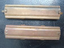 WW1 Vintage Brass Stripper Clips Suit Springfield Model 1903 Military Rifle (X2)