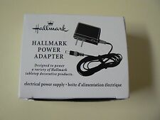 Hallmark PLUG IN POWER ADAPTER for Tabletop Decorations - Snow Globes - NEW