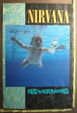 "NIRVANA,24""x36"",POSTER,Very RARE Original Record company promo,Nevermind Tour"