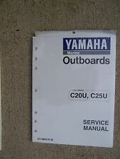 1990s Yamaha Outboard Motor C20U C25U Service Manual MORE MANUALS IN OUR STORE U