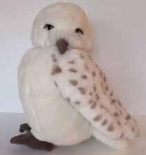 The Wizarding World of Harry Potter Owl Puppet Plush Hedwig Head Turns 12""