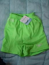 Baby Infant Boy Green SPEEDO Swimming Swim Trunks Suit-Diaper Liner-S-0-3-6 mo