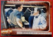 Joss Whedon's Firefly-tarjeta #65 - su nombre es Jayne-Inkworks 2006
