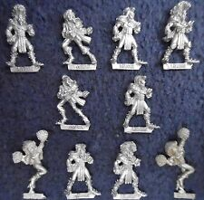 1988 ELF Bloodbowl 2nd Edition TEAM Citadel bb101 FANTASY LEGNO Elven Cheerleader