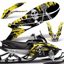 Yamaha APEX Decal Wrap Graphic Kit RTX GT MTX LTX Sled Snowmobile 14-16 REAP YLW