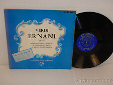 VERDI ERNANI la Scala Opera LORENZO MOLAJOLI LP Columbia ML 4407 Blue 1951