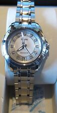 NEW Bulova Women's 96P115 Precisionist Longwood Steel Bracelet Dress Watch