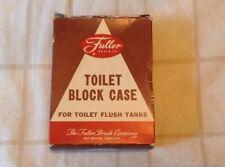 VINTAGE* Toilet Block Case**The Fuller Brush Co.**New In Box