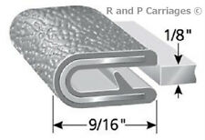"1/8"" Gray Edge Trim Lok Camper Trailer RV Seal Lock Boat Vinyl"