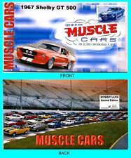Muscle Cars Set of 5  First Day Covers with Color Cancels