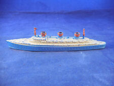 "VINTAGE TOOTSIE TOY CAST METAL PASSENGER SHIP/TROOP CARRIER 6"" WHEELS"