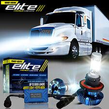 LED Headlight Bulb Kit For International Truck Pro Star Prostar 2008-2014 (LOW)
