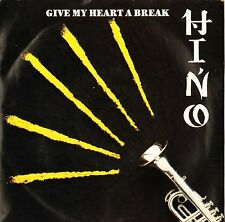 """TERUMASA HINO give my heart a break/light is right SY 23 uk 1989 7"""" PS EX/EX-"""
