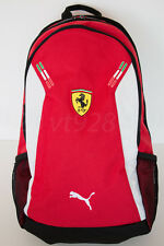 NEW PUMA FERRARI REPLICA BACKPACK RED ROSO CORSA  WITH TAGS PERFECT GIFT