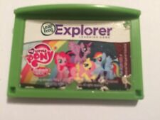 LEAP FROG LEAPPAD EXPLORER PAD GAME CARTRIDGE MY LITTLE PONY FRIENDSHIP IS MAGIC