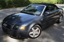Audi : A4 2dr Cabriole