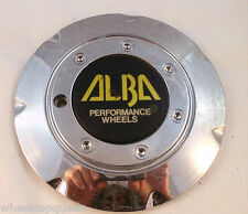 ALBA CHROME CUSTOM WHEEL CENTER CAP    (1)