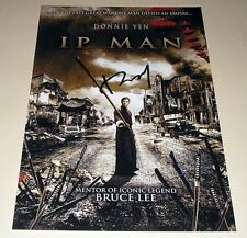 "YIP MAN PP SIGNED 12""X8"" POSTER IP DONNIE YEN"