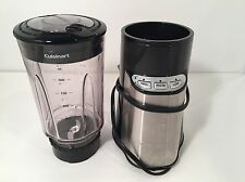 Cuisinart CPB-300 SmartPower Compact Blender Only Black Stainless
