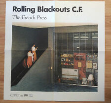 Music Poster Promo Rolling Blackouts C.F. - The French Press
