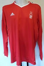 NOTTINGHAM FOREST 2014/15 L/S HOME SHIRT BY ADIDAS SIZE XXL BRAND NEW WITH TAGS