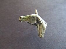 Horse Head Silver - Nice Detail - Animals Equestrian Charm Tie Tac - Jewelry NEW