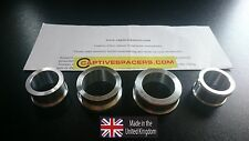 Yamaha YZF R1  1999 - 2001 Captive race wheel Spacers. Full  set. 100% UK made.