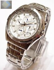 Casio Edifice Men's Analog White Watch EF-328D-7 Brand New 100% Original + Gift