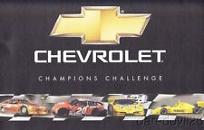 2003 Chevy Champions Challenge handout Tony Stewart Sam Hornish, Jr. Corvette
