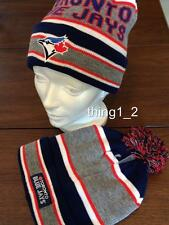 TORONTO BLUE JAYS OFFICIALLY LICENSED ADULT TOQUE NEW/TAGS (Perfect Xmas Gift)