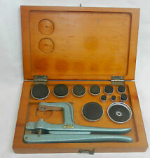 Nice boxed Bradux UB crystal press and watch case tool (6), no reserve
