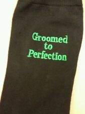 MENS SOCKS WITH A MESSAGE  OF YOUR CHOISE OR JUST A NAME AS A SPECIAL GIFT groom
