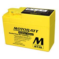 Batteria potenziata MT4R Motobatt Honda SH50 96-01 = Yuasa: YTR4ABS