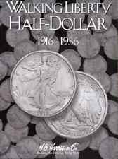 Walking Liberty Half Dollar Coin Folder Album #1, 1916-1936 by H.E. Harris