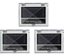 3 X Maybelline EyeStudio Mono ombretto 842 Nero Metallo
