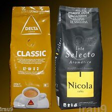 Coffee Delta Ground Caramelized  & Nicola Aromatic, 2x 250g, 500g Portuguese