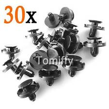 30x For Toyota Lexus Fender Splash Shield Push-Type Retainer Clips 90467-07164