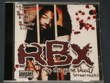 RBX cd Ripp Tha Game Gangsta Rap Daz Dillinger DPG DPGC Snoop Dogg Pound NEW