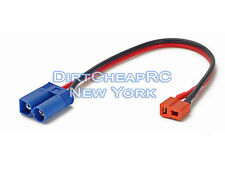 Charge Cable Adapter: Deans Female to EC5 EC-5 Male Team Losi TLR Plug LiPo Lead