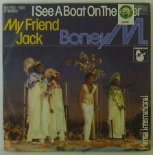 """7"""" Single - Boney M. - I See A Boat On The River / My Friend Jack - S955h"""