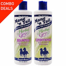 Mane 'N Tail Herbal Gro Shampoo and conditioner twin pack 355ml