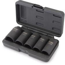 """Titan Tools 15345 5pc Axle Nut Socket Set 1/2"""" Drive"""