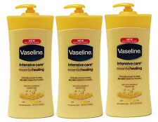 3 Vaseline Intensive Care Essential Healing Lotion Dry Skin Moisturizer 20.3Oz